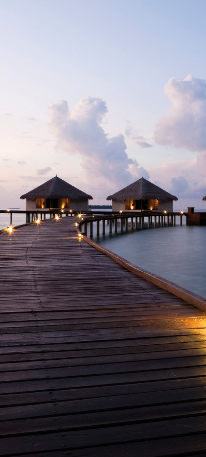 Bungalow Maldives motiv