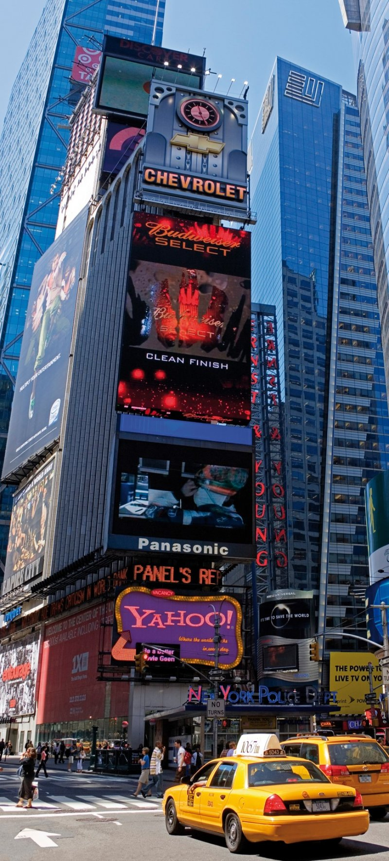 Times Square New York fototapet