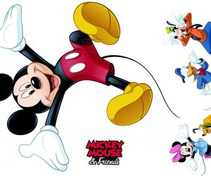 wallsticker - Mickey Mouse tapet