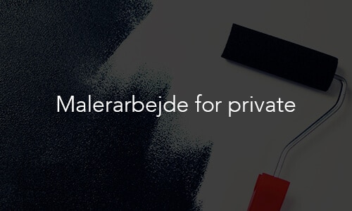 Malerarbejde for private